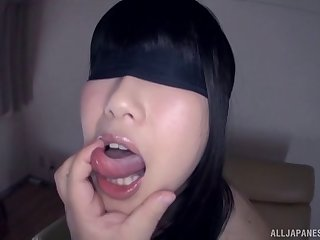 Dirty Japanese slut Arisa Seina gets fucked in all of her holes