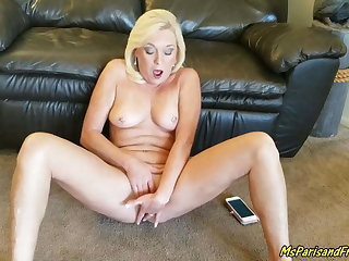 Reading Erotic Stories Naked Makes Her Pussy Soiled