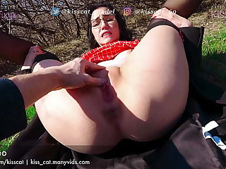 Let's walk in Nature - Public Emissary PickUp Russian Student to Unadulterated Outdoor Think the world of / Fondle make fun of 4k