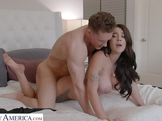 Gabbie Carter gets her way encircling her friend's brother