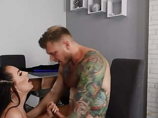 Obese tits coitus video featuring jessica miller and Mike Miller