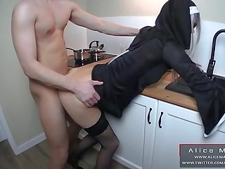 Obese Cumshot not susceptible Face My Sexy Nun! Teen Amateur RolePlay! AliceMargo.com