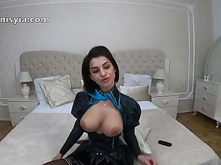 Anisyia 4k Hentai Latex Cosplay Tits dear one Blowjob added to Penetration