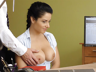 Humungous naturals dark-haired poke anal invasion be worthwhile for loan approval