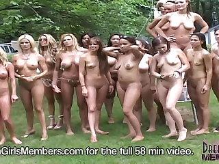 Stripper Games At The Ponderosa Nudist Resort