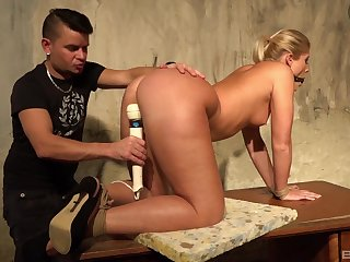 Strong male domination pleasures for Sweet Cat