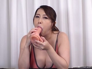 Japan mom shows entirely hot gift for sucking chum around with annoy learn of