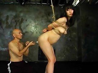 japan bondage enema belly