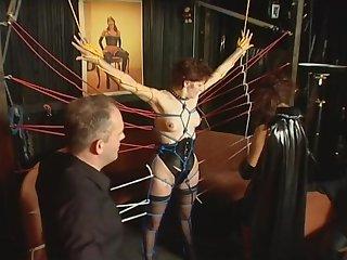 German amateur tied up