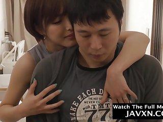 Arousing Japanese Mommy Plus Hot Stepson