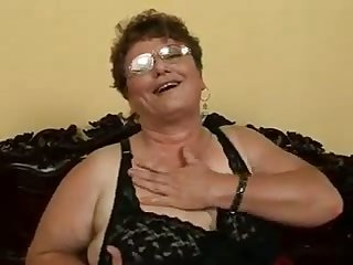 This granny is an incredible woman added to she loves to get fucked by younger men
