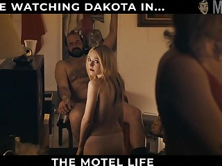 Nice and literal beauty named Dakota Fanning will path your attention